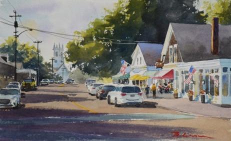 Bill Lane, Plein Air Landscapes, Portsmouth Arts Guild