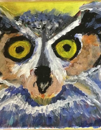 Dale-Silvia-Owl-Portsmouth-Arts-Guild