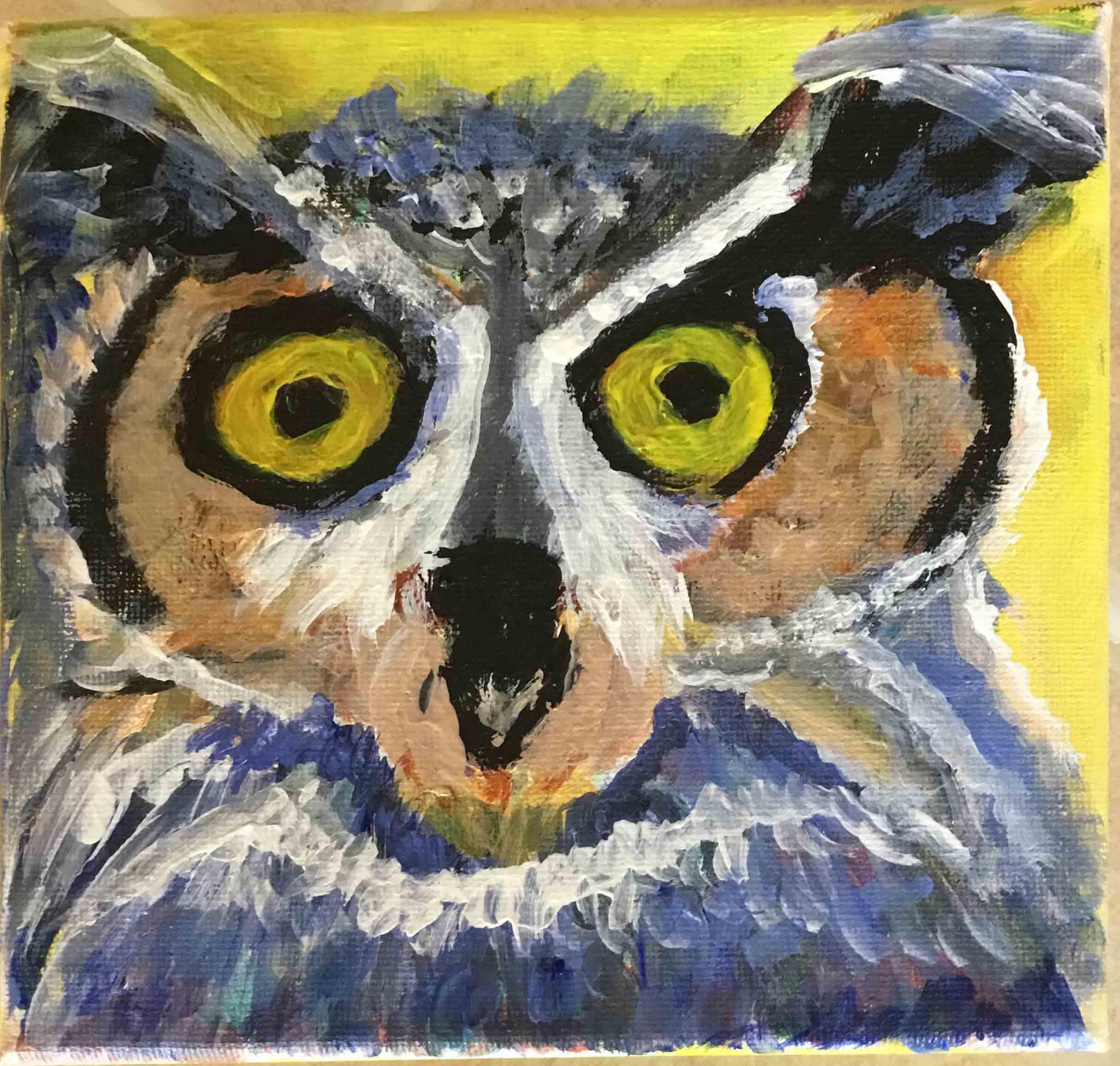 Sheila-Clark-Lundy-Owl-Portsmouth-Arts-Guild