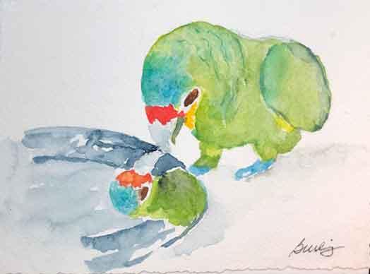 Jan Burling, Reflection, Portsmouth Arts Guild