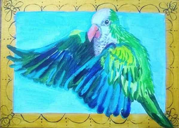 Wendy B. Davis, The Quaker Parrot, Portsmouth Arts Guild