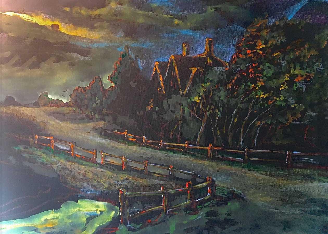 Alexandre Sasha Kouznetsov, Cuff's Bridge, Portsmouth Arts Guild