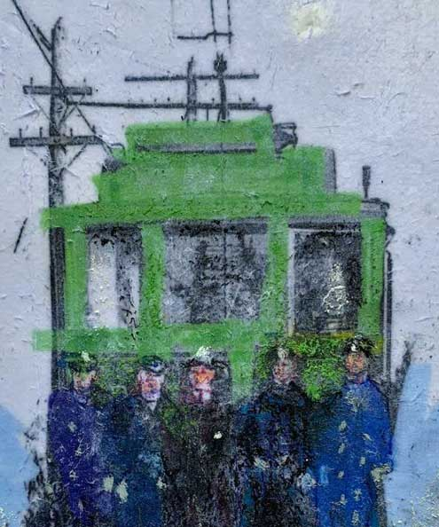 Susan Graham, Trolley, Portsmouth Arts Guild