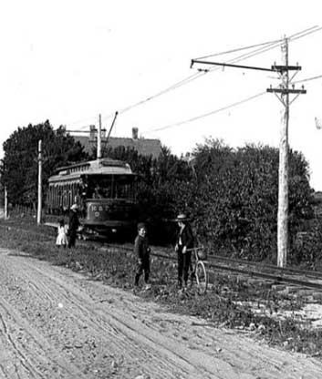 Trolley, circa 1904, Portsmouth Historical Society