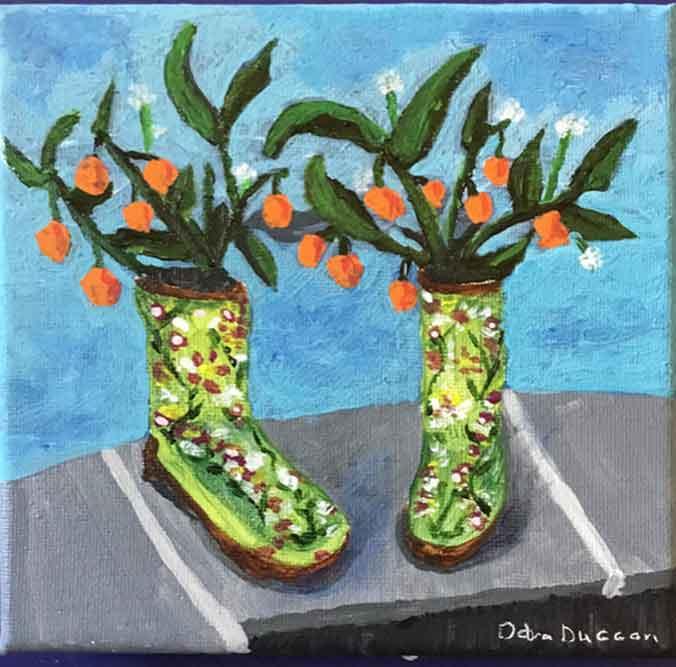 Debra Duggan, Boots for World Peace